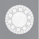 Ажурные декоративные салфетки, диаметр 100 мм,   10шт
