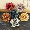 Цветы бумажные TIMIDO коллекции CRAFTSMAN, диаметр 3,8 см, упаковка 6 шт