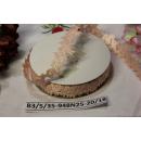 Декоративная лента Персиковая, 25мм, 1м