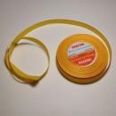Лента атласная Veritas шир 12мм цв. желтый, 1м.