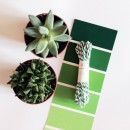 Шпагат для рукоделия и упаковки, Bakers twine, цвет зеленый, 3 м.