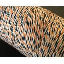 Шпагат для рукоделия и упаковки, Bakers twine, трехцветный, 3 м.