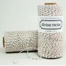 Шпагат для рукоделия и упаковки, Bakers twine, нежно коричневый (крафт), 3 м.