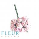 Мини-розочки Нежные, размер цветка 1 см, 10 шт/упаковка