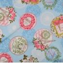 Ткань для пэчворка,  40х50 см, Серия Quaters,   -4