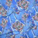 Ткань для пэчворка,  50х50 см, коллекция Blue, Кантри шик