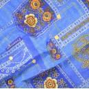 Ткань для пэчворка,  50х50 см, коллекция Blue,   Кантри джаз