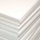 Пивной картон, 15 х 15 см, толщина 1,15 мм, цвет белый
