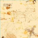 Лист односторонней бумаги 30,5х30,5 см,  -0190