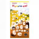 Наклейка декоративная фетровая 1 Овцы 1, 95х185