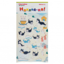 Наклейка декоративная фетровая 1 Собаки 3, 95х185