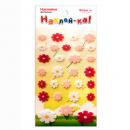 Наклейка декоративная фетровая 1 Цветы 1, 95х185