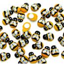 Самоклеящаяся деревянная пчёлка, 1,3 см  1шт