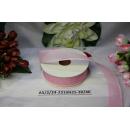Декоративная лента Розовая, 25мм, 1м