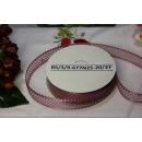 Декоративная лента Бледно-розовая, 25мм, 1м