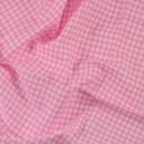 Ткань для пэчворка,  50х50 см, Розовая серия, Floral Stripe Dot Plaid Gird,  -4