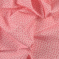 Ткань для пэчворка,  50х50 см, Розовая серия, Floral Stripe Dot Plaid Gird,  -5
