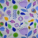 Ткань для пэчворка,  40х50 см, серия Field,  -1