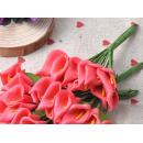 Набор цветочков, каллы, цвет красный, 12шт