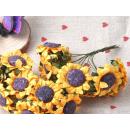 Набор цветочков, Подсолнух, 10шт