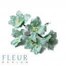 Цветы Лилии цвет мятный, размер цветка 3.75 см, 5 шт