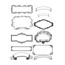 Бумажные элементы для скрапбукинга