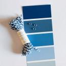 Шпагат для рукоделия и упаковки, Bakers twine, цвет морской синий, 3 м.