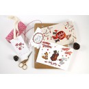 Шпагат для рукоделия и упаковки, Bakers twine, цвет яркий розовый, 3 м.