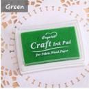 Штемпельная подушечка Craft   /зеленый