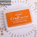 Штемпельная подушечка Craft   /оранжевый