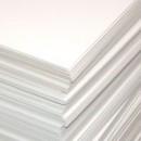 Пивной картон, 25 х 25 см, толщина 1,25 мм, цвет белый