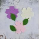 Заготовка для цветка из фоамирана