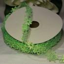 Декоративная лента Ажурные цветочки, 25мм, 1м