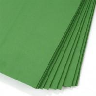 Фоамиран лист 60х70см (±3см), 1мм, зелен. (Иран)